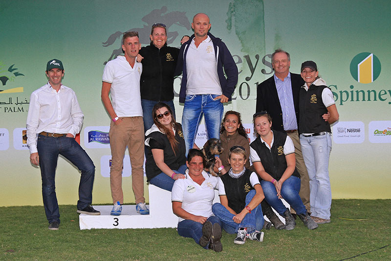 Spinneys cross country jumps staff ponny club 2015